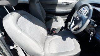 2011 Hyundai i20 PB MY11 Active Black 5 Speed Manual Hatchback
