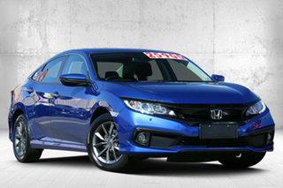 2019 Honda Civic 10th Gen MY19 VTi-S Brilliant Sporty Blue 1 Speed Constant Variable Sedan.