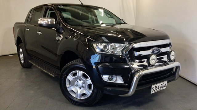 Used Ford Ranger PX MkII XLT Double Cab Elizabeth, 2016 Ford Ranger PX MkII XLT Double Cab Black 6 Speed Sports Automatic Utility