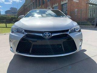2017 Toyota Camry AVV50R Atara SL Silver 1 Speed Constant Variable Sedan Hybrid.