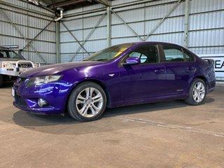 2010 Ford Falcon FG XR6 Purple 5 Speed Sports Automatic Sedan.