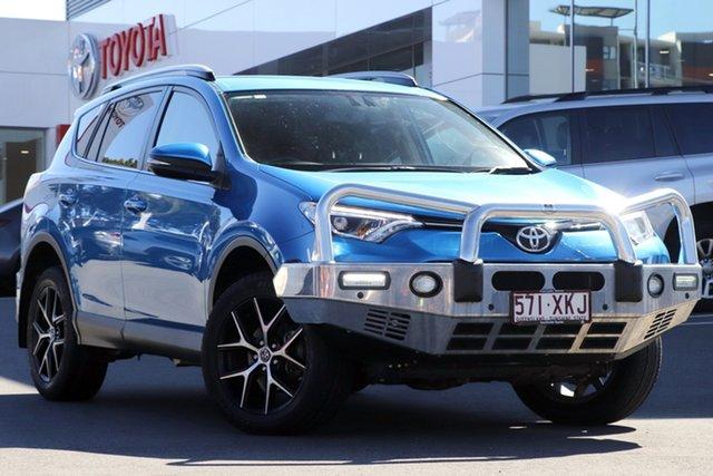 Pre-Owned Toyota RAV4 Woolloongabba, 2017 Toyota RAV4 Blue Gem Automatic Wagon