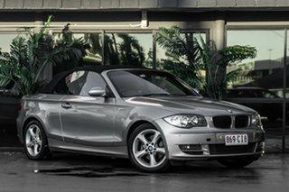 2008 BMW 120i E88 120i Silver 6 Speed Automatic Convertible.