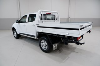 2015 Holden Colorado RG MY15 LS Crew Cab 4x2 White 6 Speed Sports Automatic Cab Chassis
