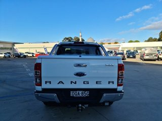 2017 Ford Ranger PX MkII 2018.00MY XLT Super Cab Frozen White 6 Speed Manual Utility