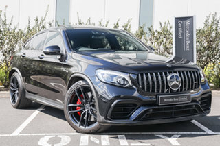 2019 Mercedes-Benz GLC-Class C253 809MY GLC63 AMG Coupe SPEEDSHIFT MCT 4MATIC+ S Obsidian Black.