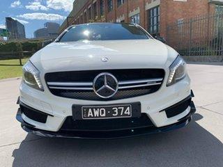 2015 Mercedes-Benz A-Class W176 805+055MY A45 AMG SPEEDSHIFT DCT 4MATIC White 7 Speed