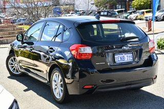 2014 Subaru Impreza G4 MY14 2.0i AWD Crystal Black 6 Speed Manual Hatchback.