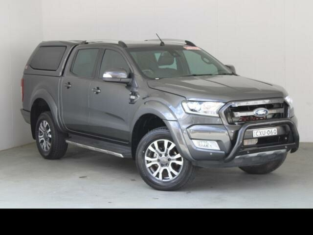 Used Ford Ranger PX MkII MY17 Update Wildtrak 3.2 (4x4) Belconnen, 2017 Ford Ranger PX MkII MY17 Update Wildtrak 3.2 (4x4) Grey 6 Speed Automatic Dual Cab Pick-up