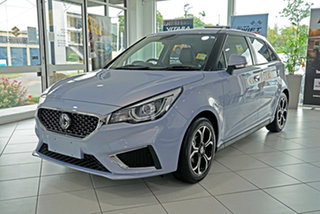 2021 MG MG3 SZP1 MY21 Excite Silver 4 Speed Automatic Hatchback.