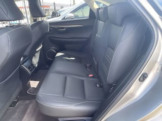 2016 Lexus NX AGZ15R NX200t AWD Luxury Silver 6 Speed Sports Automatic Wagon