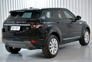 2014 Land Rover Range Rover Evoque L538 MY15 SD4 Pure Black 9 Speed Sports Automatic Wagon
