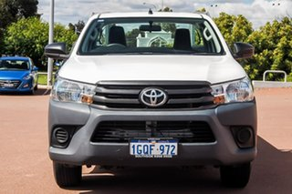 2018 Toyota Hilux TGN121R Workmate 4x2 Black 5 Speed Manual Cab Chassis