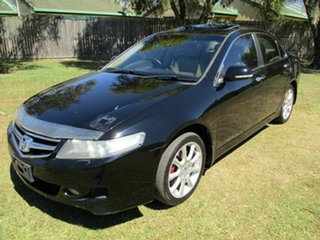 2005 Honda Accord Euro CL Luxury Black 5 Speed Automatic Sedan