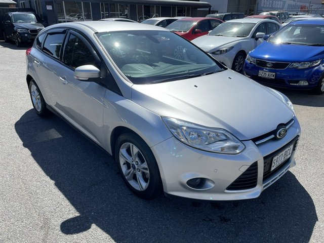 Used Ford Focus LW MkII MY14 Trend PwrShift Gepps Cross, 2014 Ford Focus LW MkII MY14 Trend PwrShift Silver 6 Speed Sports Automatic Dual Clutch Hatchback