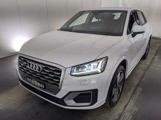 2017 Audi Q2 GA MY18 Sport S Tronic Quattro White 7 Speed Sports Automatic Dual Clutch Wagon.