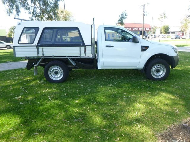 Used Ford Ranger PX XL Plus Beverley, 2014 Ford Ranger PX XL Plus White Sports Automatic Cab Chassis