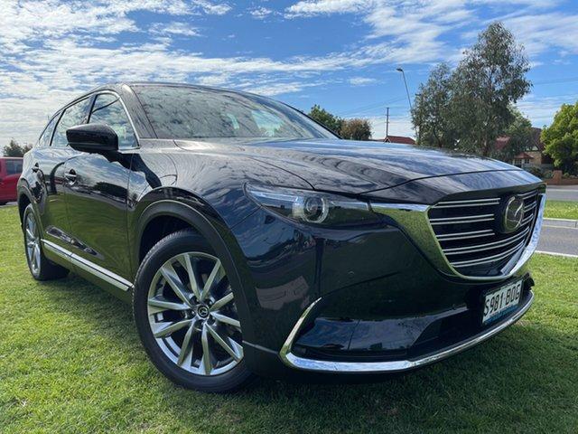 Used Mazda CX-9 TC Azami SKYACTIV-Drive Hindmarsh, 2017 Mazda CX-9 TC Azami SKYACTIV-Drive Black 6 Speed Sports Automatic Wagon