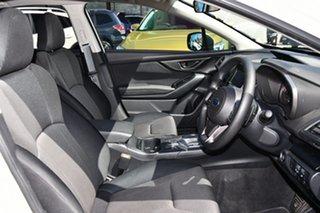 2019 Subaru Impreza G5 MY20 2.0i CVT AWD Crystal White Pearl 7 Speed Constant Variable Hatchback