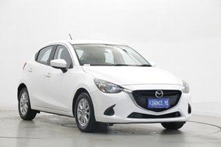 2014 Mazda 2 DJ2HAA Maxx SKYACTIV-Drive White 6 Speed Sports Automatic Hatchback