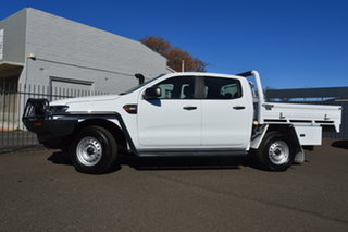 2018 Ford Ranger PX MkII MY17 Update XL 3.2 (4x4) 6 Speed Automatic Crew Cab Chassis.