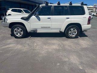 2015 Nissan Patrol Y61 GU 9 ST Pearl White 4 Speed Automatic Wagon