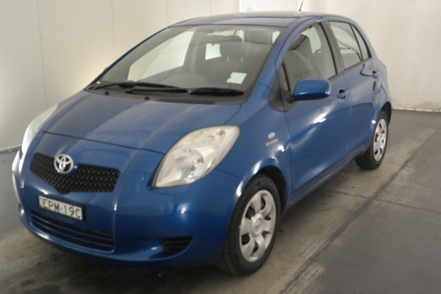 Used Toyota Yaris NCP91R YRS Maryville, 2007 Toyota Yaris NCP91R YRS Blue 4 Speed Automatic Hatchback