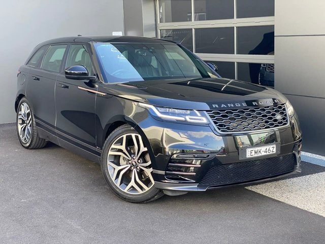 Used Land Rover Range Rover Velar L560 MY18 Standard Hobart, 2018 Land Rover Range Rover Velar L560 MY18 Standard Black 8 Speed Sports Automatic Wagon