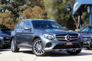 2018 Mercedes-Benz GLC-Class X253 809MY GLC250 d 9G-Tronic 4MATIC Grey 9 Speed Sports Automatic.