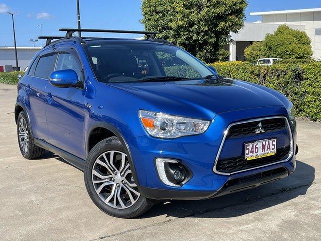 Used Mitsubishi ASX XB MY15 XLS Townsville, 2015 Mitsubishi ASX XB MY15 XLS Blue 6 Speed Sports Automatic Wagon