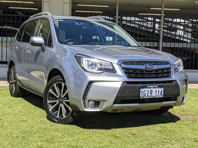 Used Subaru Forester S4 MY18 XT CVT AWD Premium Victoria Park, 2017 Subaru Forester S4 MY18 XT CVT AWD Premium Silver 8 Speed Constant Variable Wagon