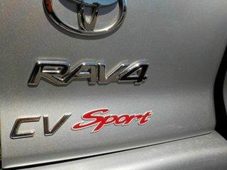 2005 Toyota RAV4 ACA23R CV Sport Silver 5 Speed Manual Wagon