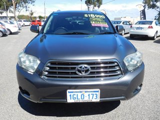 2010 Toyota Kluger GSU45R KX-S AWD Grey 5 Speed Sports Automatic Wagon.