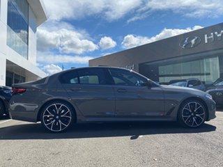 2020 BMW 5 G30 30e M Sport PHEV LCI Bernina Grey Amber Effect 8 Speed Auto Steptronic Sport Sedan