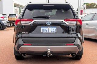 2021 Toyota RAV4 Axah54R Cruiser eFour Black 6 Speed Constant Variable Wagon Hybrid
