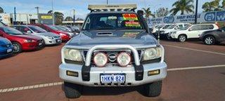 2006 Nissan Patrol GU IV MY05 ST Silver 4 Speed Automatic Wagon.
