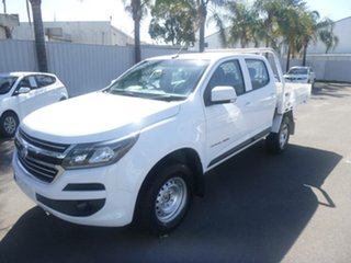 2018 Holden Colorado RG MY19 LT Pickup Crew Cab White 6 Speed Sports Automatic Utility