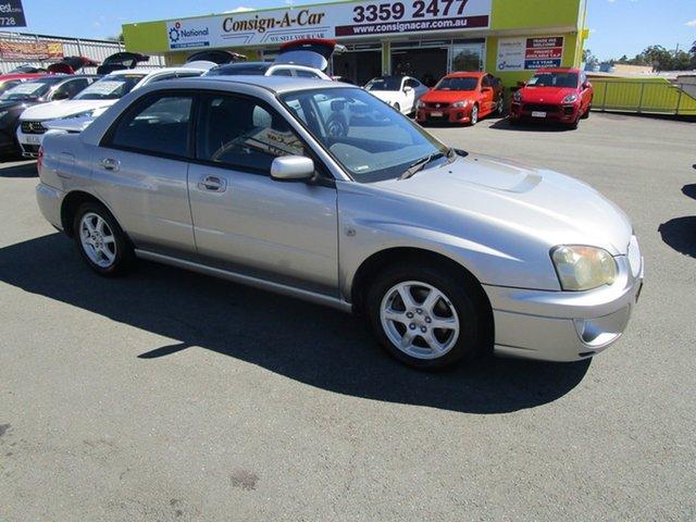 Used Subaru Impreza S MY05 GX AWD Kedron, 2005 Subaru Impreza S MY05 GX AWD Silver 5 Speed Manual Sedan