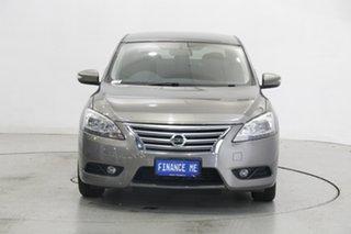 2013 Nissan Pulsar B17 ST-L Bronze 1 Speed Constant Variable Sedan.
