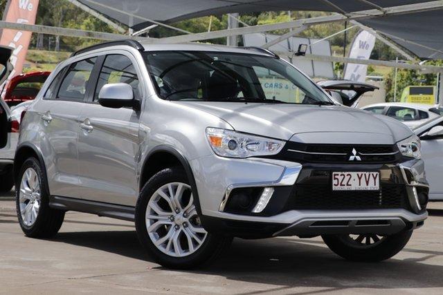 Used Mitsubishi ASX XC MY19 ES 2WD Bundamba, 2019 Mitsubishi ASX XC MY19 ES 2WD Silver 1 Speed Constant Variable Wagon