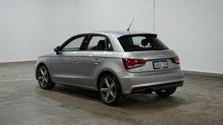 2018 Audi A1 8X MY18 Sport Sportback Silver 6 Speed Manual Hatchback.