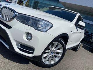 2014 BMW X3 F25 MY15 xDrive20d Alpine White 8 Speed Automatic Wagon.