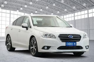 2017 Subaru Liberty B6 MY17 2.5i CVT AWD White 6 Speed Constant Variable Sedan.