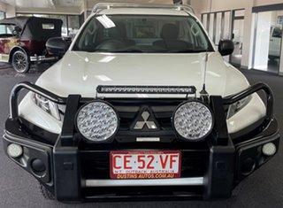 2019 Mitsubishi Triton MR MY19 GLX 4x2 White 5 Speed Manual Cab Chassis