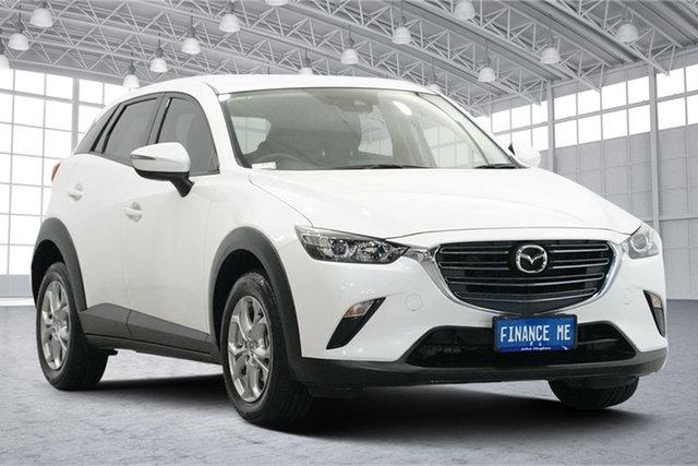 Used Mazda CX-3 DK2W7A Maxx SKYACTIV-Drive FWD Sport Victoria Park, 2018 Mazda CX-3 DK2W7A Maxx SKYACTIV-Drive FWD Sport White 6 Speed Sports Automatic Wagon