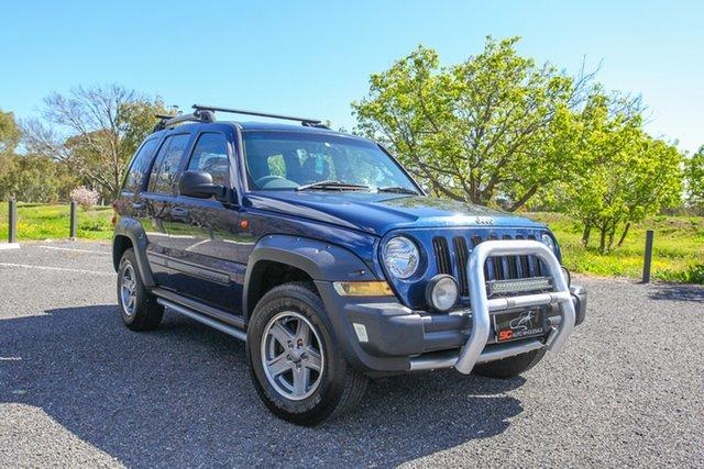 Used Jeep Cherokee KJ MY2005 Renegade Lonsdale, 2005 Jeep Cherokee KJ MY2005 Renegade Blue 4 Speed Automatic Wagon
