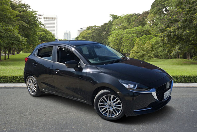 Demo Mazda 2 DJ2HAA G15 SKYACTIV-Drive GT Paradise, 2021 Mazda 2 DJ2HAA G15 SKYACTIV-Drive GT 6 Speed Sports Automatic Hatchback