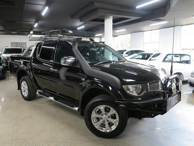 Used Mitsubishi Triton MN MY15 GLX-R Double Cab Albion, 2015 Mitsubishi Triton MN MY15 GLX-R Double Cab Black 5 Speed Sports Automatic Utility