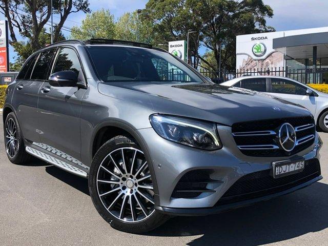 Used Mercedes-Benz GLC-Class X253 807MY GLC250 d 9G-Tronic 4MATIC Botany, 2016 Mercedes-Benz GLC-Class X253 807MY GLC250 d 9G-Tronic 4MATIC Grey 9 Speed Sports Automatic
