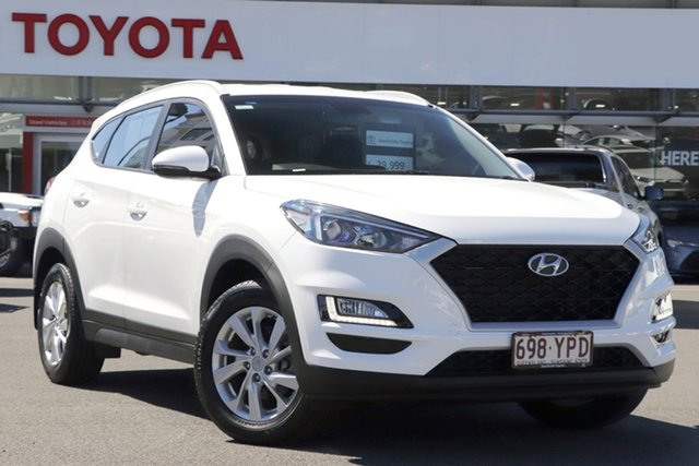 Pre-Owned Hyundai Tucson TL MY18 Active X 2WD Upper Mount Gravatt, 2018 Hyundai Tucson TL MY18 Active X 2WD White 6 Speed Sports Automatic Wagon